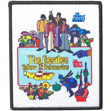 Picture of Beatles Patches: Yellow Submarine Movie Poster