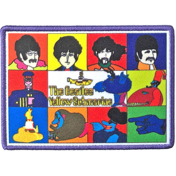 Picture of Beatles Patches: Yellow Submarine Characters