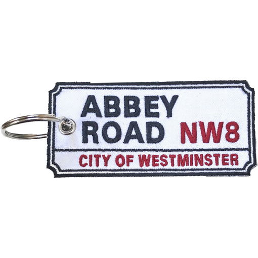 Picture of Beatles Patches: Keychain Patch - Abbey Road