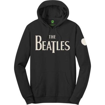 Picture of Beatles Hoodie: Unisex Pullover Drop T Logo Logo & Apple (Applique Motifs)