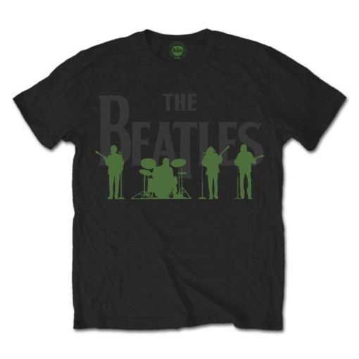 Picture of Beatles Adult T-Shirt: Beatles Saville Row Line Up Take 2