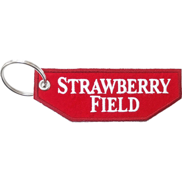 Picture of Beatles Patches: Keychain Patch - Strawberry Field