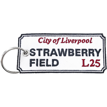 Picture of Beatles Patches: Keychain Patch - Strawberry Field  L25