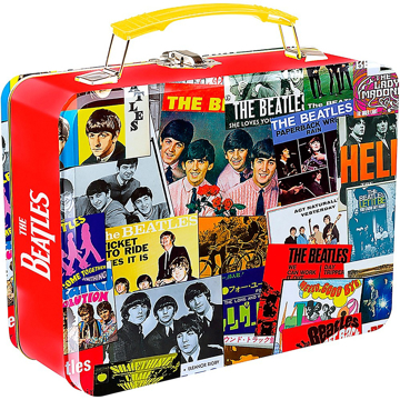 Picture of Beatles Lunch Box: Beatles Singles Covers Design