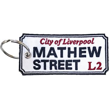 Picture of Beatles Patches: Keychain Patch - Mathew Street Liverpool Sign