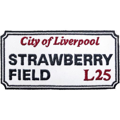 Picture of Beatles Patches: Strawberry Field, Liverpool Sign