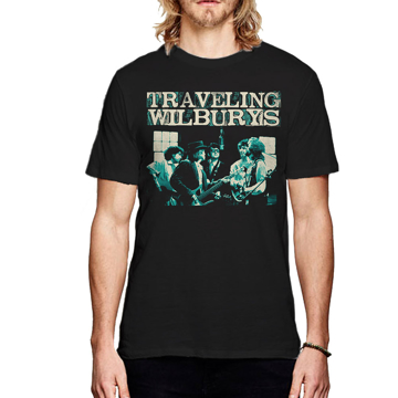 Picture of Beatles Adult T-Shirt: Traveling Wilburys Performing