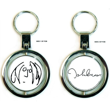 Picture of John Lennon Spinner Keychain: Imagine