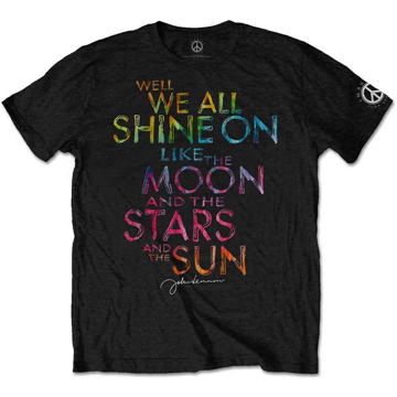 Picture of Beatles Adult T-Shirt: John Lennon Shine On