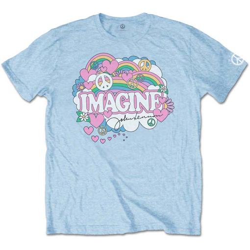 Picture of Beatles Adult T-Shirt: John Lennon Love & Peace