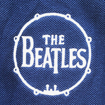 Picture of Beatles Polo Shirt: Drum Logo Navy Blue