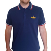 Picture of Beatles Polo Shirt: Yellow Submarine Navy Blue
