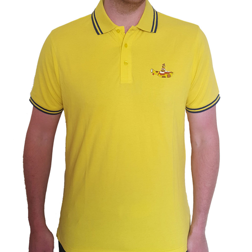 Picture of Beatles Polo Shirt: Yellow Submarine Yellow