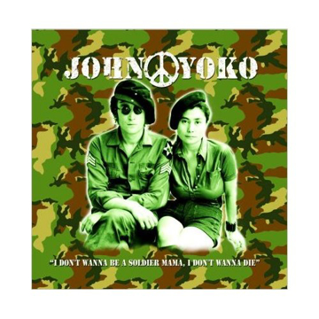 "Picture of Beatles Greeting Card:  John Lennon ""John & Yoko"""