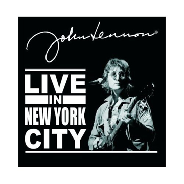 "Picture of Beatles Greeting Card:  John Lennon ""Live in New York City"""
