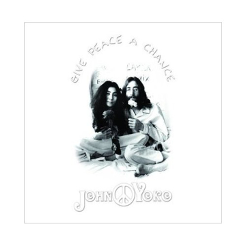 "Picture of Beatles Greeting Card:  John Lennon ""Give Peace A Chance"""