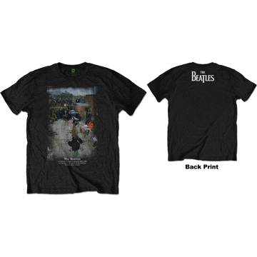 Picture of Beatles Adult T-Shirt: Beatles Saville Row Line Up Take 3