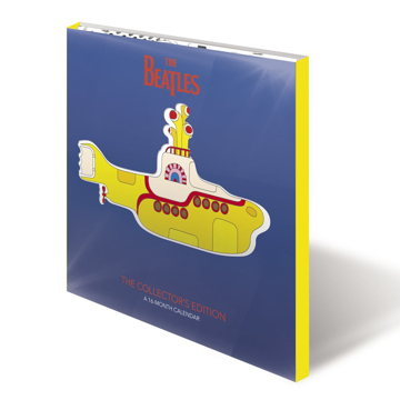 Picture of Beatles Calendar: 2021 Collector's Edition - Yellow Submarine with Bonus Mini Calendar