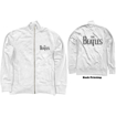 Picture of Beatles Jacket: Track Top featuring The Beatles 'Drop T Logo' White