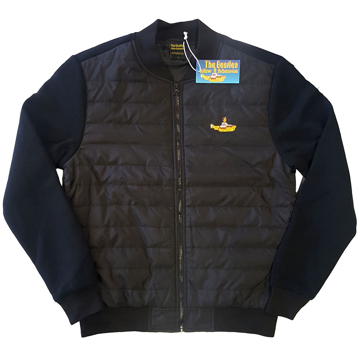 Picture of Beatles Jacket: Unisex fit Quilted Jacket Yellow Submarine