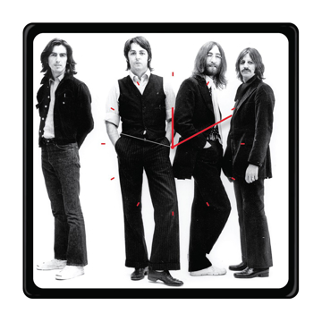 Picture of Beatles Clock: The Beatles Let it Be  Square Clock