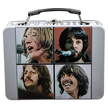 "Picture of Beatles Lunch Box: Beatles ""Let It Be"" Song Titles"