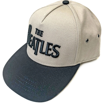 Picture of Beatles Cap: Drop T Logo (Snap Back) Sand