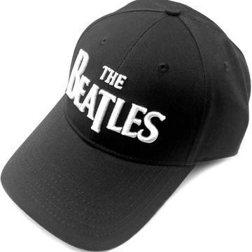 Picture of Beatles Cap: The Beatles Drop T Logo (Black)
