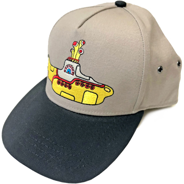 Picture of Beatles Cap: Yellow Submarine (Snap Back) Sand