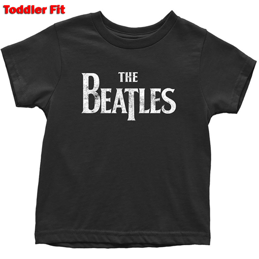 Picture of Beatles Kid Shirt: The Beatles Black Drop T - Baby to 5 YR