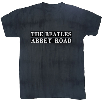 Picture of Beatles Adult T-Shirt: Beatles Abbey Road Dip Dye