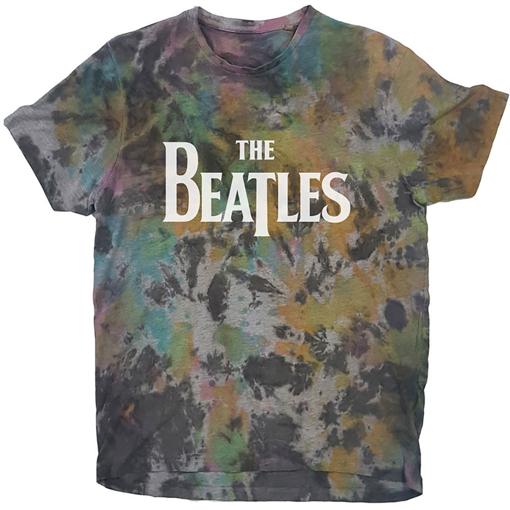 Picture of Beatles Adult T-Shirt: Beatles Drop T Dip Dye Tee