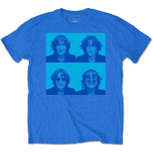 Picture of Beatles Adult T-Shirt: John Lennon Photo Booth Blues