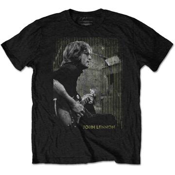 Picture of Beatles Adult T-Shirt: John Lennon Gibson Tee