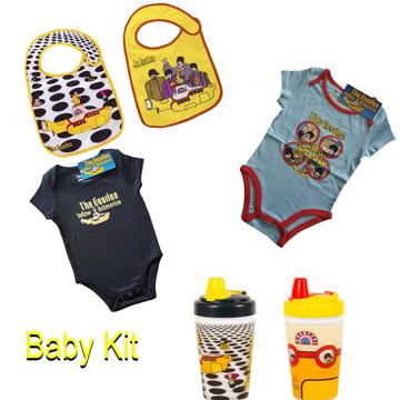 Picture of Beatles Baby Gift: Yellow Submarine Baby Starter Kit