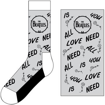 Picture of Beatles Socks: The Beatles Unisex Ankle Socks AYNIL & Drum