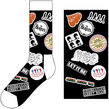 Picture of Beatles Socks: The Beatles Unisex Ankle Socks -  Icons